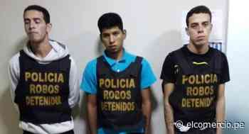 SMP: detienen a tres delincuentes que acuchillaron a una joven tras intentar robarle su celular - El Comercio Perú