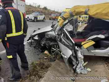SAN MARTÍN DE LA VEGA/ Dos heridos en un accidente en la M-307 - Noticias Para Municipios