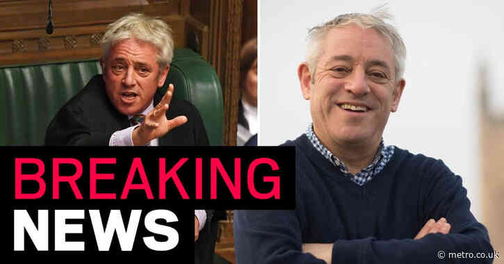 John Bercow defects to Labour and attacks Boris's 'lies and empty slogans