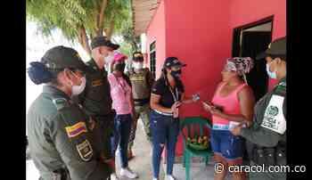 Ante una alerta temprana, fuerza pública lleva oferta a San Onofre - Caracol Radio