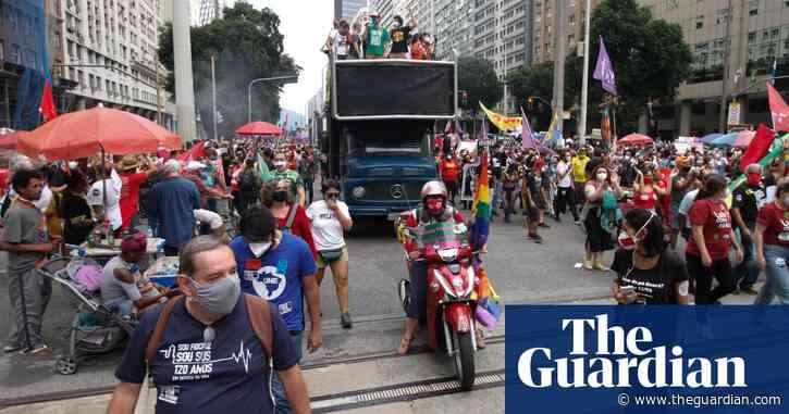 Fresh protests in Brazil against Bolsonaro's handling of Covid pandemic