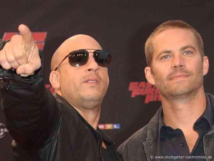 Fast & Furious 9 - Vin Diesel dachte während Premiere an Paul Walker - Stuttgarter Nachrichten