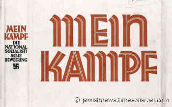 Publisher in Paris releases new French translation of Mein Kampf - Jewish News