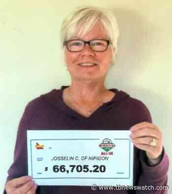 Nipigon woman wins $66K playing Poker Lotto - Tbnewswatch.com