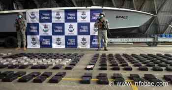 Cayó cargamento con 300 kilos de clorhidrato de cocaína en Buenaventura - infobae