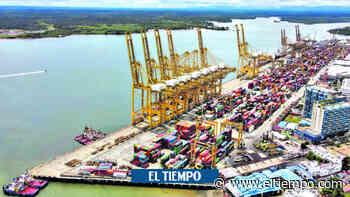 Empiezan a salir de Buenaventura 760.000 toneladas de carga - El Tiempo