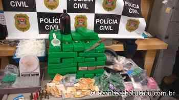"DISE de Botucatu destrói ""fábrica"" da droga em Rubião Junior | Jornal Acontece Botucatu - Acontece Botucatu"