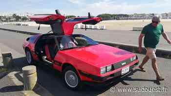 Royan : sa DeLorean ne remonte pas le temps, mais lui vaut une belle popularité - Sud Ouest