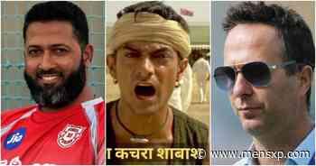 Wasim Jaffer Uses Epic 'Lagaan' Meme To Bring Seasoned Troll Michael Vaughan To His Senses - MensXP.com