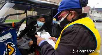 Cercado de Lima: más de 1.300 mototaxistas informales fueron multados por no cumplir las normas municipales - El Comercio Perú