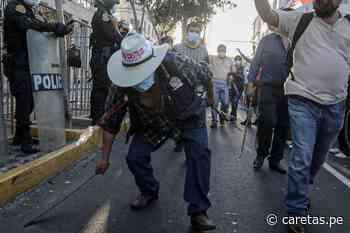 Ronderos en Lima: uso de machetes en movilización genera... - Caretas