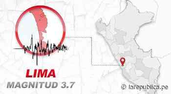 Temblor en Lima HOY 18 de junio del 2021: dónde fue el epicentro del último sismo en Perú hace unos minutos - LaRepública.pe