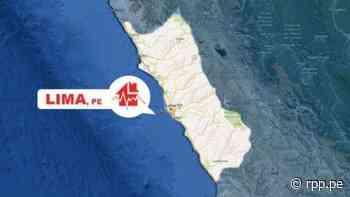 Un sismo de magnitud 4.3 remeció la región Lima esta mañana - RPP Noticias