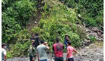 Cierre de emergencia por deslizamiento de tierra en Quípama, Boyacá - Caracol Radio