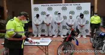 """Desarticulada banda delincuencial """"Los Jibaros"""" quienes operaban en Cundinamarca y Boyacá - Extrategia Medios"""