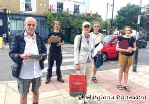 'We want a low traffic policy here' - Islington Tribune newspaper website
