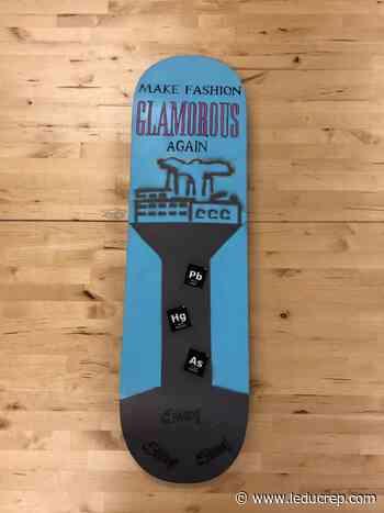 Students use skateboards to raise awareness - Leduc Representative