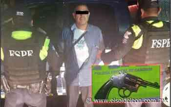 Detienen a un hombre con un revólver en Romita - El Sol de León