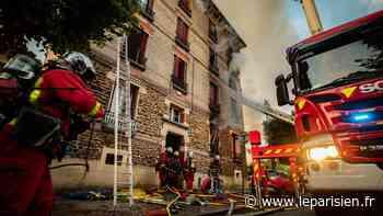 Livry-Gargan : trois blessés graves, dont deux enfants, dans l'incendie d'un immeuble - Le Parisien