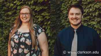 Miller and Mather Receive Clarkson University Physical Therapy Scholarship in Memory of Melissa Walsh '03 '05 - Clarkson University News