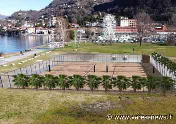 Al Gaggetto di Laveno Mombello due campi in sabbia per giocare a pallavolo e footvolley - varesenews.it