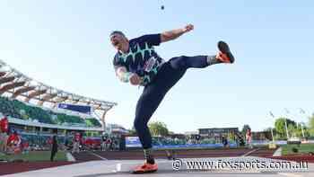 US shot put star Ryan Crouser shatters 31-year world record
