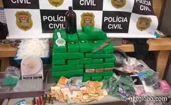 Homens são presos em Botucatu com 51 quilos de maconha e 650 porções de outras drogas - G1