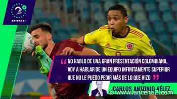 Llenos de goleadores y faltó el gol. Colombia lo hizo todo lo demás... ¡Faríñez tuvo la culpa! - Antena 2