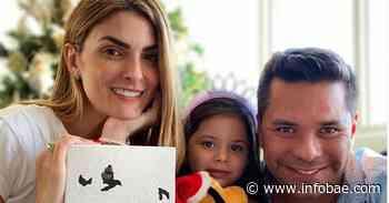 ¡Nació Simón! Segundo hijo de Luis Carlos Vélez y Siad Char - infobae