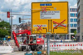 Chemnitz: Baustellen und kein Ende - Das ist dieses Jahr noch geplant - TAG24