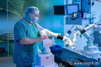 Meilenstein! Im Klinikum Chemnitz operiert jetzt Kollege Roboter - TAG24
