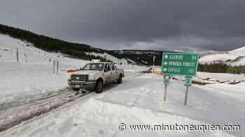 Nieve: piden precaución para transitar por las rutas neuquinas - Minuto Neuquen