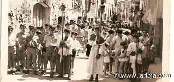Multitudinaria procesión de San Roque en Tudelilla - La Rioja
