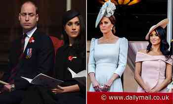 'Hurt William threw Harry out': Rift began with row over bullying claims against Meghan