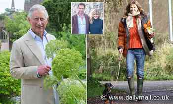 Dominic West's wife sparks friendship with Prince Charles as actor husband plays him in The Crown