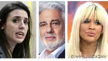 """Ylenia Padilla y la respuesta cortante a Irene Montero a razón de Plácido Domingo: """"Sois un cuadro todas, marionetas"""" - MARCA.com"""