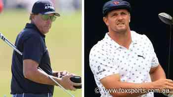 US Open LIVE: Golf gods punish star in 'cruel' twist; Bryson charging home