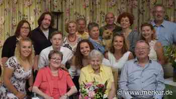 Egenhofens einzige 100-Jährige feiert Geburtstag - Merkur Online