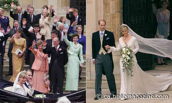 Looking back at Prince Edward and the Countess of Wessex's 1999 wedding - HELLO! CANADA - HELLO! Canada
