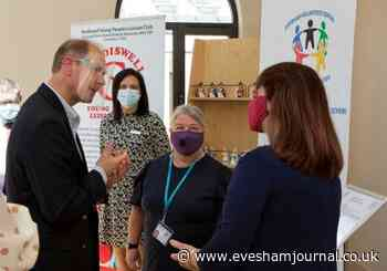 Evesham Volunteer Centre members meet Prince Edward - Evesham Journal