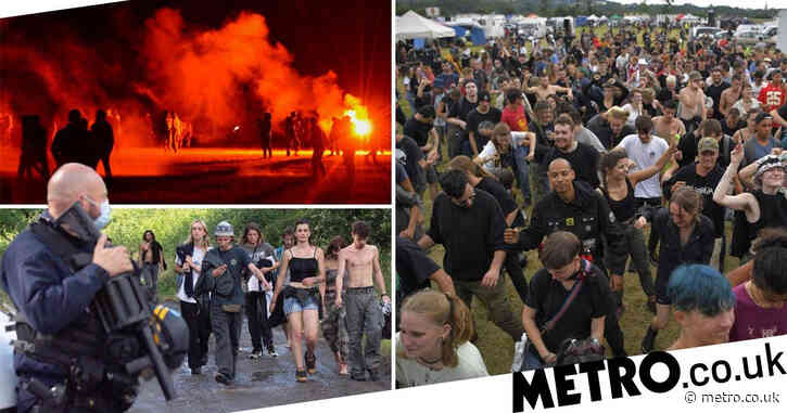 Man, 22, loses hand after clashes with French police at illegal rave