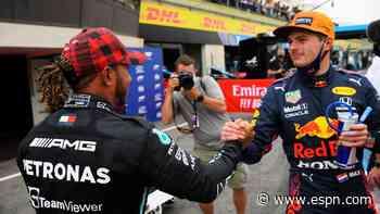 Max Verstappen, Lewis Hamilton battle on knife edge again in France - ESPN