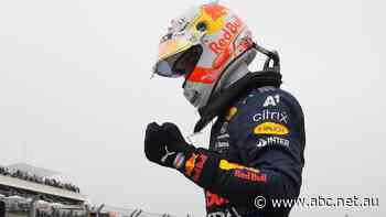 Max Verstappen takes pole in France in convincing fashion, Ricciardo starts 10th