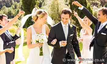 Couples will be able to get married OUTDOORS for the first time from next month