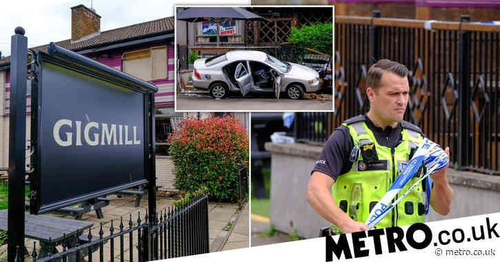 England fan 'shot man with air gun after Scotland match and smashed car into pub'