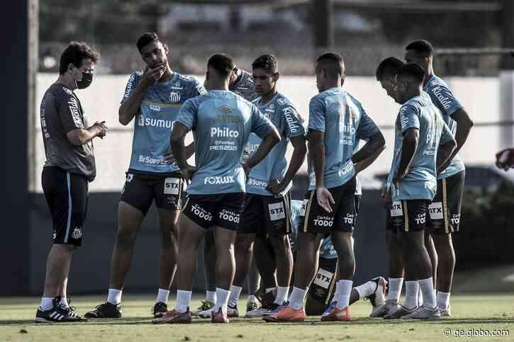 Escalação do Santos: Diniz encerra preparação e define time para clássico contra o São Paulo - globoesporte.com