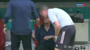 """""""A responsabilidade é minha"""", diz Fernando Santos após derrota de Portugal para a Alemanha - globoesporte.com"""