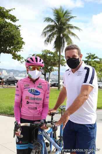 Santista comanda ciclismo paralímpico em Tóquio   Prefeitura de Santos - Prefeitura de Santos