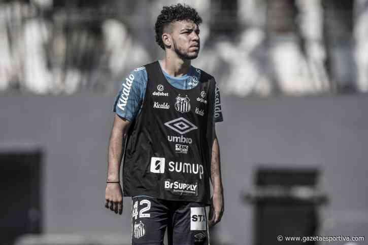 Primeiro reforço, Moraes ainda aguarda estreia no Santos - Gazeta Esportiva
