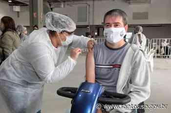 Santos segue com vacinação contra covid-19 e gripe no final de semana - Prefeitura de Santos